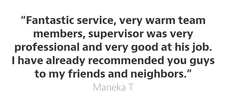 Hammer and Mop shares a delightful customer experience while serving Maneka - a dear customer who allowed us to serve her for home cleaning :)